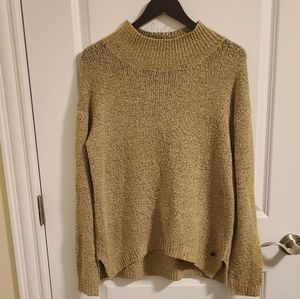 Only tan knitted sweater